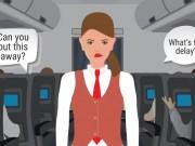 5 việc khiếm nhã bạn không nên làm với tiếp viên hàng không trên máy bay