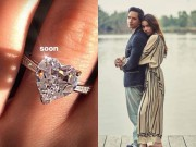"""Hà Hồ khoe nhẫn kim cương  """" khủng """" , úp mở sắp kết hôn với Kim Lý"""
