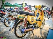 Ngắm Honda Dream độ màu vàng quý tộc rực rỡ