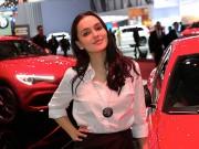 Dàn người đẹp khoe sắc tại Geneva Motor Show