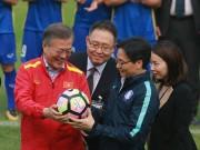 Tổng thống Hàn Quốc: Nếu không có bão tuyết, chắc chắn U23 Việt Nam đã vô địch