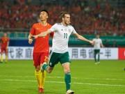 """Trung Quốc - Xứ Wales: Hat-trick siêu sao,  """" đánh tennis """"  hủy diệt"""