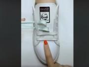 Cách thắt dây giày thể thao nhanh, đẹp, dễ không ngờ