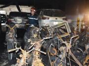 Thủ phạm  vụ cháy chung cư Carina là xe tay ga Attila?