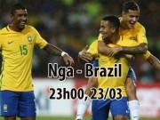 Nga - Brazil: Vắng Neymar, tam tấu 235 triệu euro mở hội