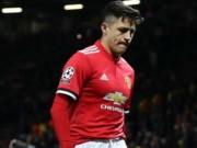 """Sanchez: 1 bàn/10 trận tự coi mình như số 1, bị SAO MU """"dằn mặt"""""""