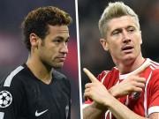 """Nóng: Neymar họp kín với Lewandowski,  """" bom tấn đôi """"  về Real"""