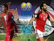 """Bồ Đào Nha - Ai Cập: """"Vua"""" Ronaldo đấu """"siêu nhân"""" Salah"""