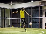"""Usain Bolt tập cùng  """" nam thần """"  Marco Reus: Hướng tới MU, mơ thành siêu sao"""