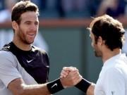 Tin thể thao HOT 24/3: Federer choáng với cú trái Del Potro