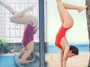 Khoảnh khắc tập yoga cực gợi cảm của Bảo Anh và mỹ nhân Việt