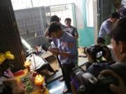 Đám tang đẫm nước mắt của  người hùng  cứu 40 người trong đám cháy chung cư Carina
