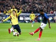 """Pháp - Colombia: """"Mãnh hổ"""" tỏa sáng, đại tiệc 5 bàn"""