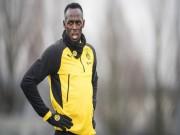 """Usain Bolt mơ thành siêu sao bóng đá, nhận ngay  """" gáo nước lạnh """""""