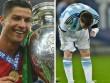 """Ronaldo """"mưu cao"""" bùng nổ: Hừng hực đấu Messi ở World Cup"""