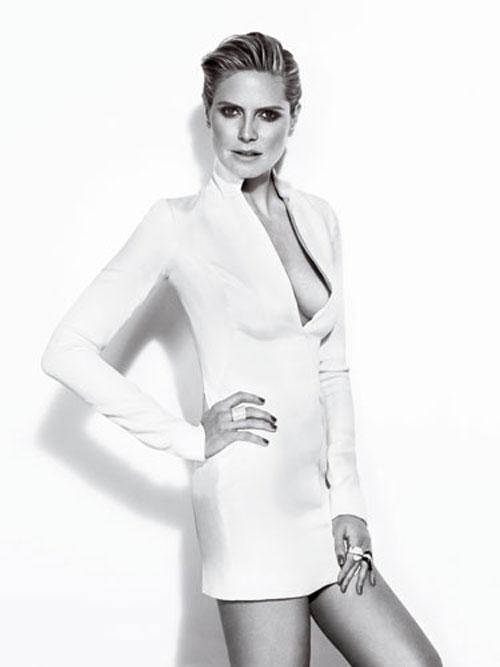 Heidi Klum bật mí bí quyết làm đẹp - 3