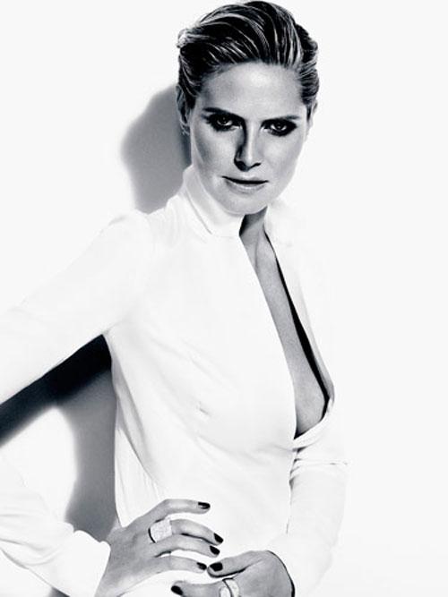 Heidi Klum bật mí bí quyết làm đẹp - 4