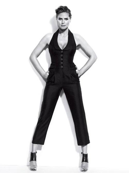 Heidi Klum bật mí bí quyết làm đẹp - 6