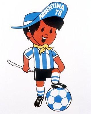 Linh vật qua các kỳ World Cup - 4