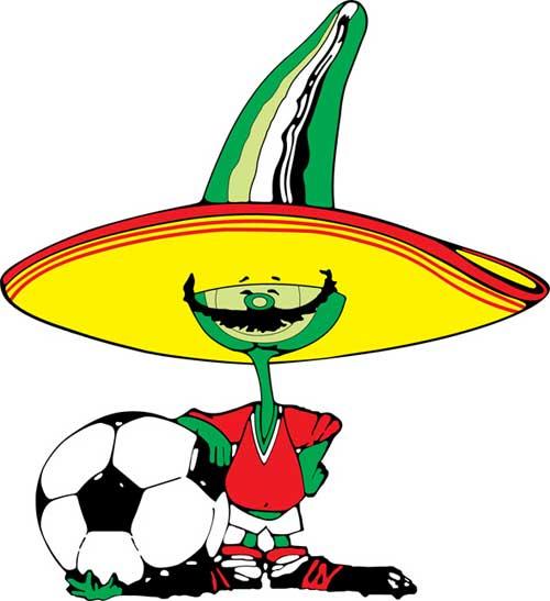 Linh vật qua các kỳ World Cup - 6