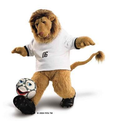Linh vật qua các kỳ World Cup - 11