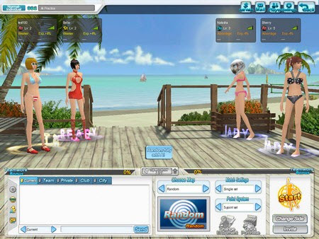 Beach Volleyball - Chơi bóng với những cô gái gợi cảm - 1