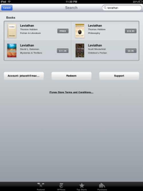 Mẹo tải sách điện tử miễn phí cho iPad - 1