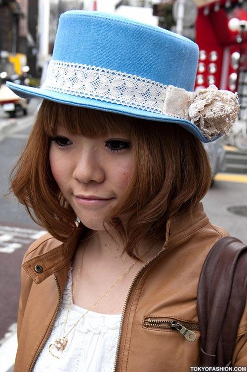 Teen Nhật chuộng mũ vành cứng - 2