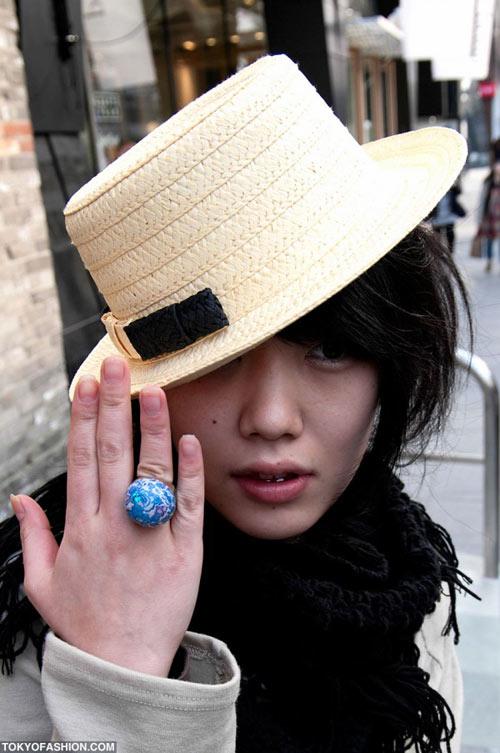 Teen Nhật chuộng mũ vành cứng - 4