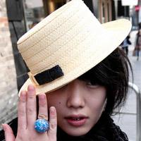 Teen Nhật chuộng mũ vành cứng