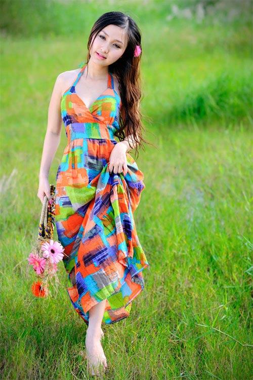 Chọn váy Maxi phù hợp từng vóc dáng - 5