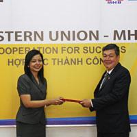 Dịch vụ chuyển tiền Western Union trải rộng gần khắp các quận huyện Việt Nam