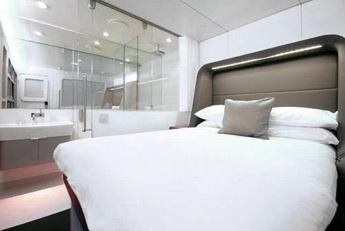 Ngắm khách sạn bay đầu tiên trên thế giới, Phi thường - kỳ quặc, khách sạn bay, Hotelicopter, độc đáo, 5 sao, sang  trọng, tiện nghi
