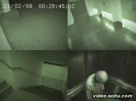 Video: Ma trong thang máy - 3