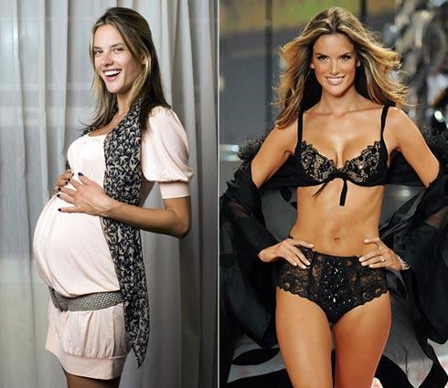 Lấy lại vòng eo hoàn hảo sau khi sinh - 1