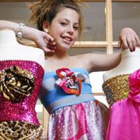 Nhà thiết kế thời trang 10 tuổi