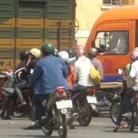 Bát nháo giao thông cửa ngõ Đà Nẵng