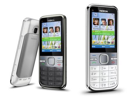 Smartphone giá rẻ Nokia C5 đến Việt Nam - 1