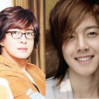 Bae Yong Joon và bản sao Kim Hyun Joong