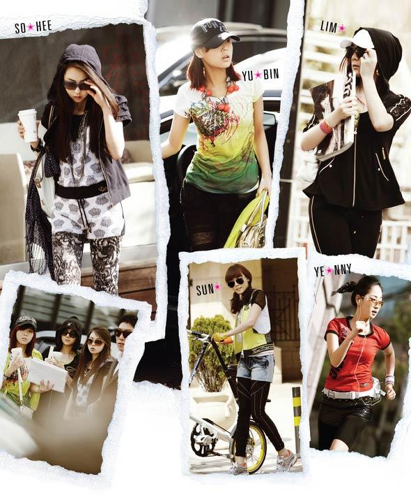 Wonder Girls - 'hot' với kính thời trang - 1