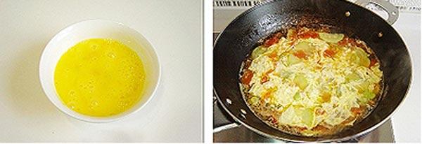 Canh trứng bí ngòi - Hấp dẫn món canh chiều - 3
