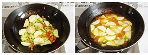Canh trứng bí ngòi - Hấp dẫn món canh chiều - 2