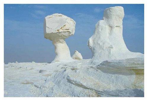 Sa mạc trắng huyền bí ở Ai Cập - 1
