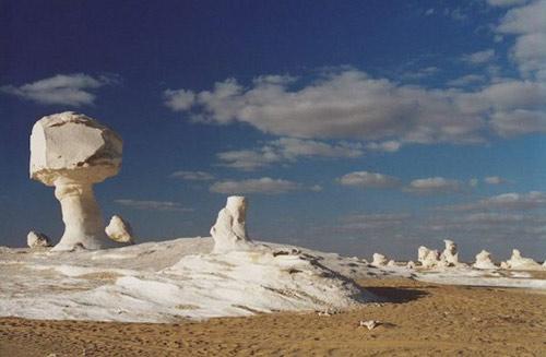 Sa mạc trắng huyền bí ở Ai Cập - 4