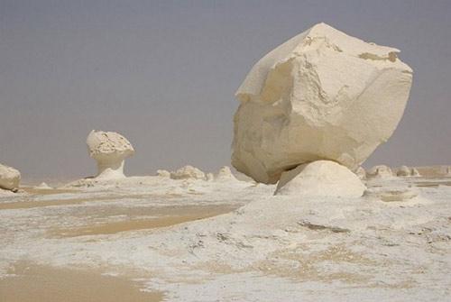 Sa mạc trắng huyền bí ở Ai Cập - 6