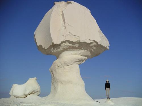 Sa mạc trắng huyền bí ở Ai Cập - 7