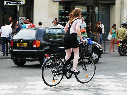 Thời trang đường  phố và xe đạp - 21