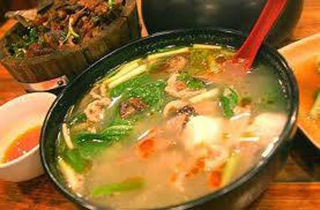 Ẩm thực: Mát lành canh thịt nấu chua - 1