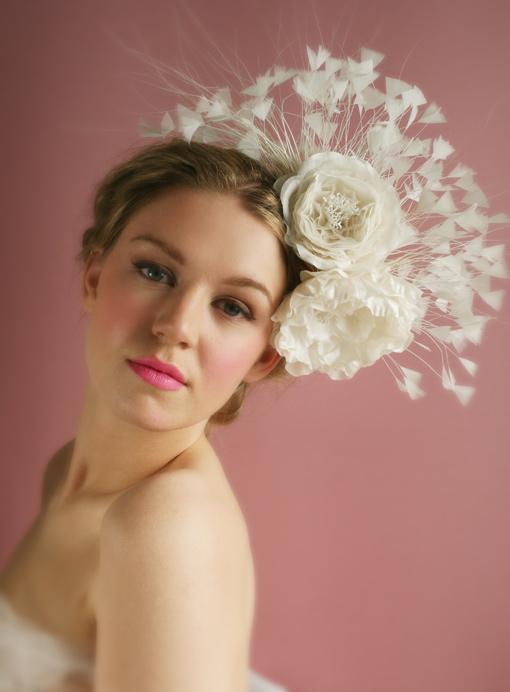 Thời trang tóc cưới cho nàng dâu kiêu sa - 1