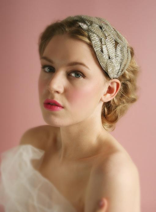 Thời trang tóc cưới cho nàng dâu kiêu sa - 11